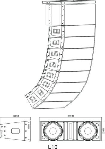 线阵音箱HT-L8