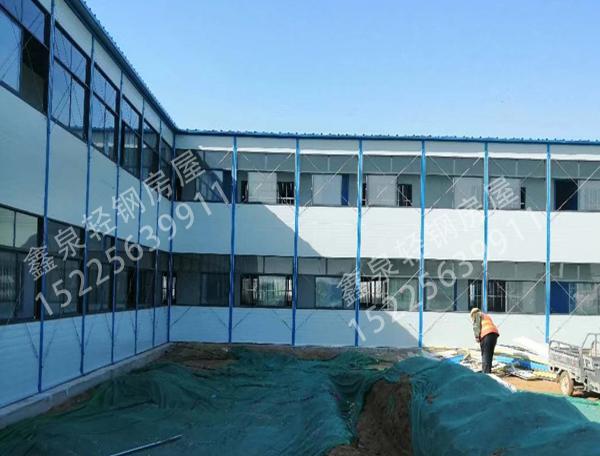 玻璃幕墙网架房安装完工!