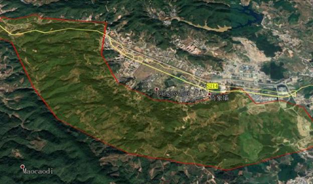 普洱南山嶺文旅度假項目1:2000地形