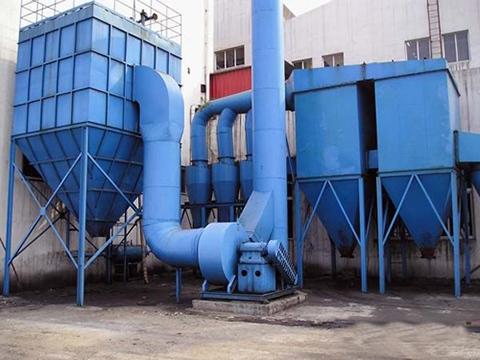 高炉煤气干法脉冲袋式除尘器