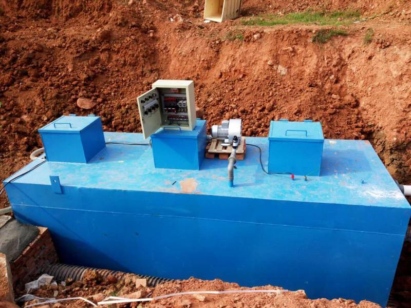 如何對地埋式污水處理設備進行清潔