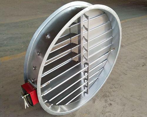 镀锌钢板圆型防火调节阀,贵州防火调节阀