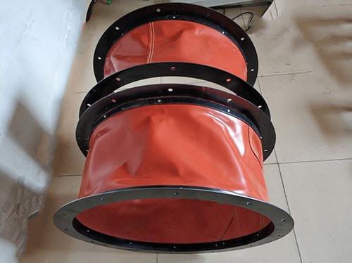 硅酸钛合金高温防火软连接,贵州风机防火软连接定制