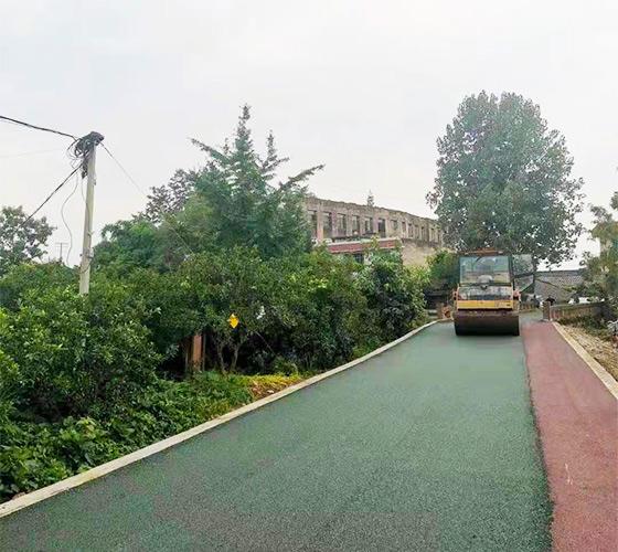 重庆彩色防滑路面施工