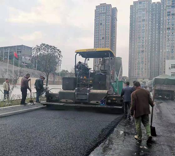 四川内江绕城连接线施工