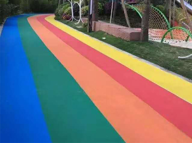 浅谈彩色沥青路面的优点?