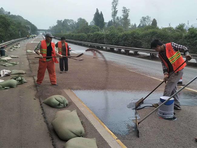 重庆彩色路面施工