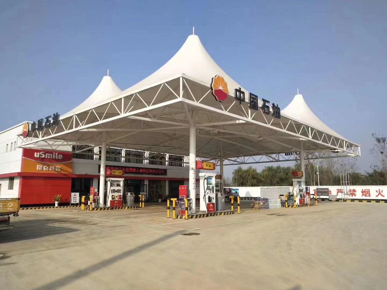 加油站罩棚膜结构
