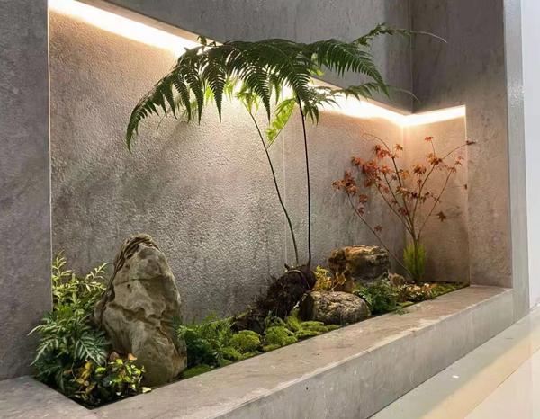 家居软装设计选择南阳仿真植物为人们的生活带来生气