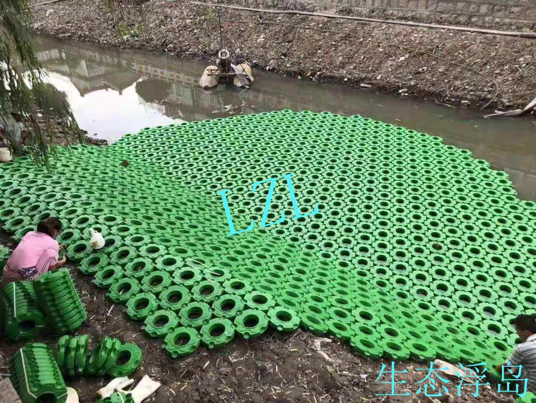 生态浮生岛安装