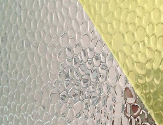 锤纹镜面铝板