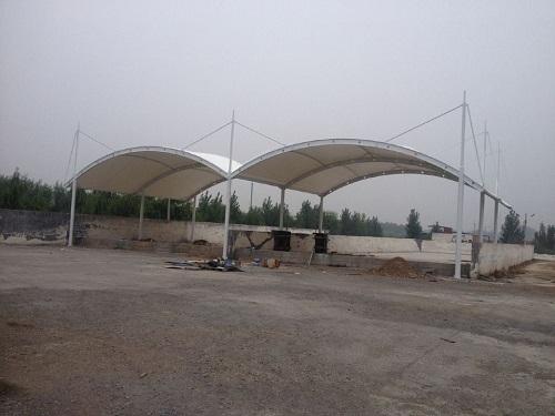 高青南岳水厂垃圾罩棚