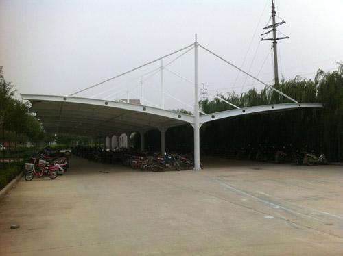 东营万达自行车棚