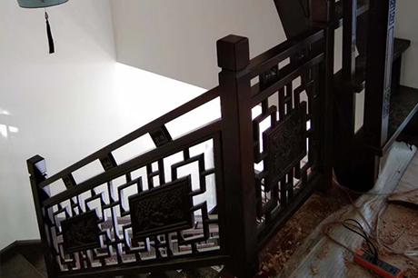 重庆阁楼实木楼梯