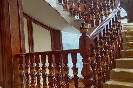 重庆实木楼梯定制