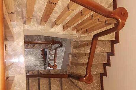 实木楼梯加工