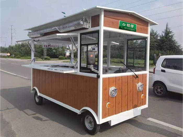定制移动餐车