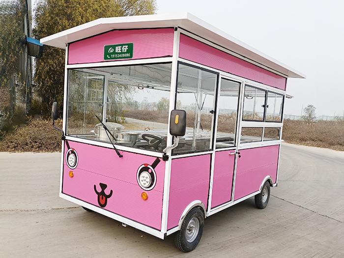 卡通餐车系列