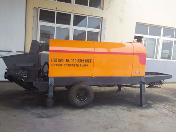 HBTS80-16-110混凝土输送泵