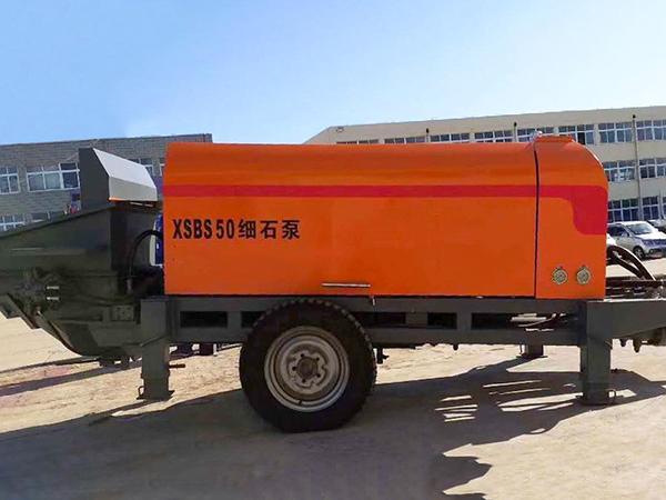 SBS50-16-55细石混凝土泵