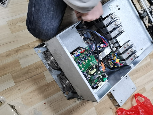 45KW变频器检修