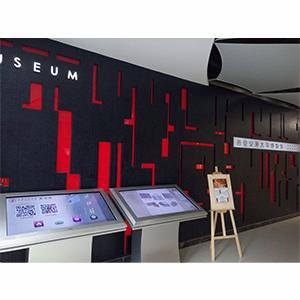 自助終端機 交大博物館信息查詢機 宇聯觸控