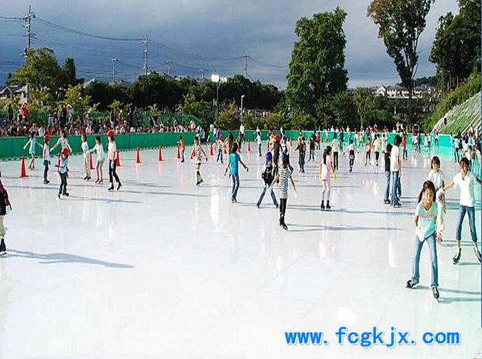 仿真溜冰场