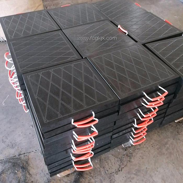起重机垫板为什么选择超高分子量聚乙烯板 五点原因可说明