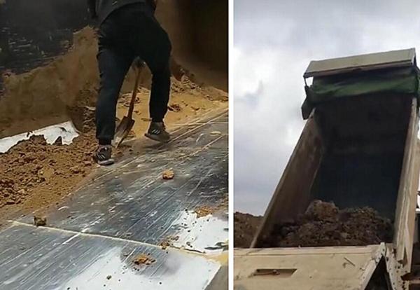 工程渣土车车厢安装钢板滑板步骤与注意事项