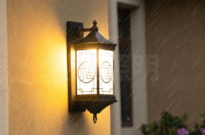 庭院壁灯供应