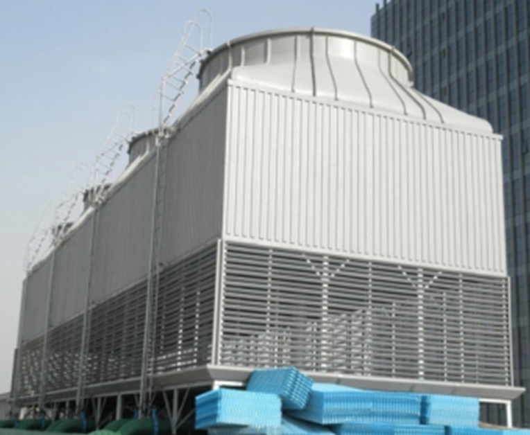 逆流式方形冷却塔