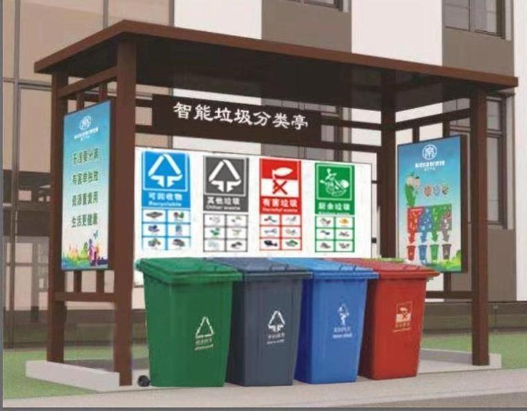 智能垃圾分类亭