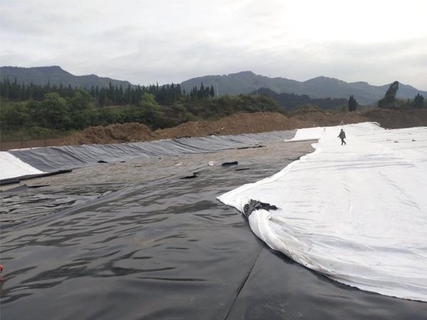 瀘州垃圾填埋場防滲工程