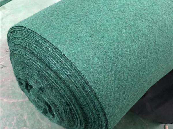 绿色针刺无纺土工布
