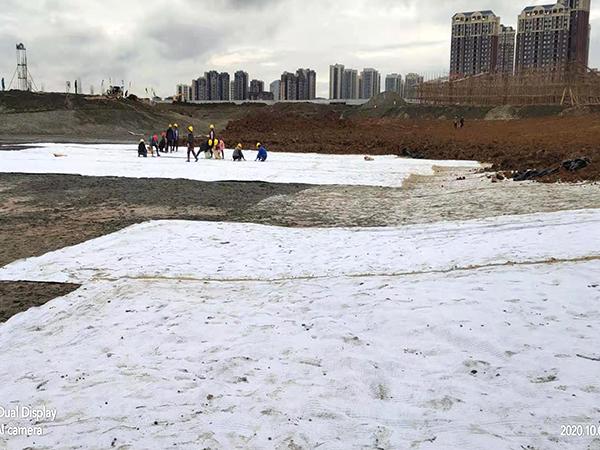 人工湖專用膨潤土防水毯