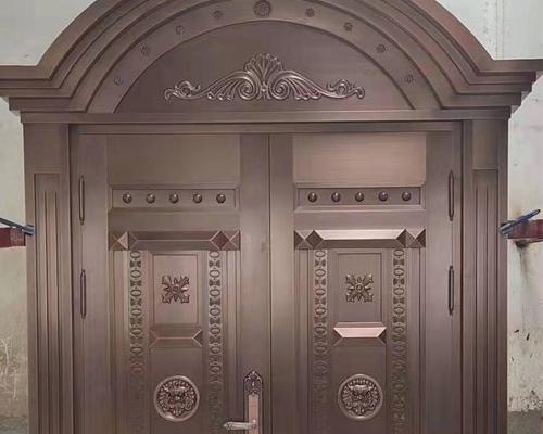 不锈钢镀别墅铜门
