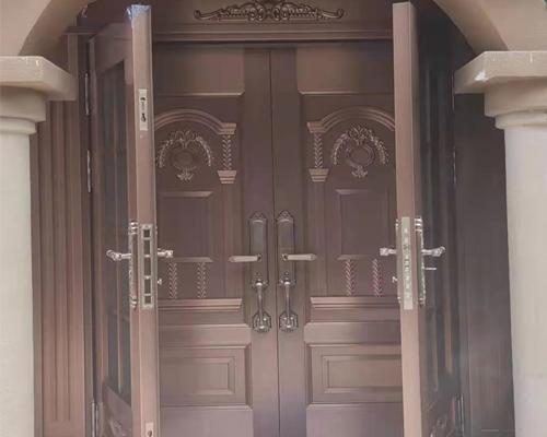 复式别墅铜门