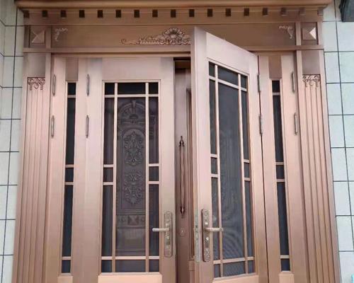豪华复式铜门