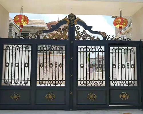 铸铝庭院门