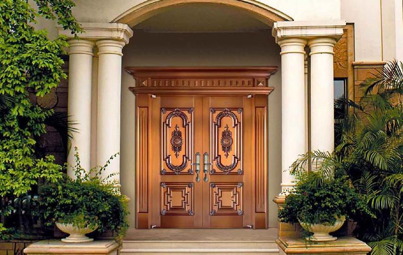 别墅选购岳阳铜门厂铜门的理由有哪些?