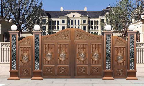湖南铜庭院门厂家教您如何选择一款铜庭院门