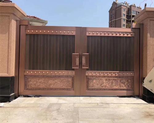 选择庭院铜门应注意什么?