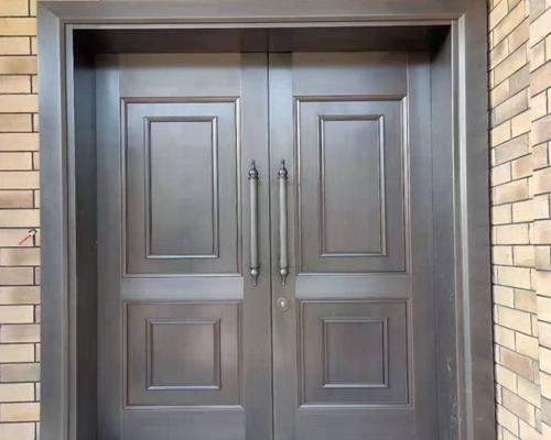 不锈钢镀铜门的优点