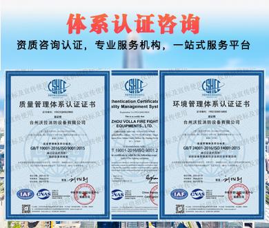 体系认证咨询
