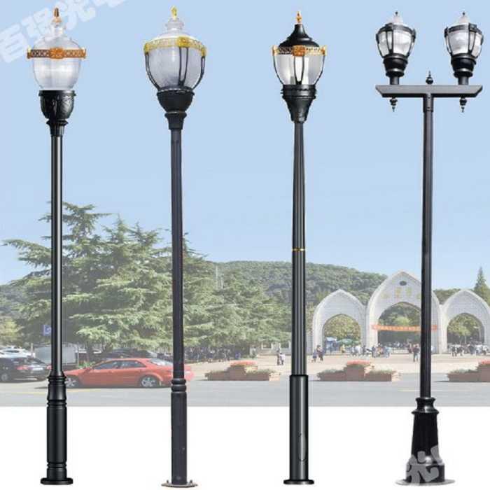 天水太阳能庭院灯