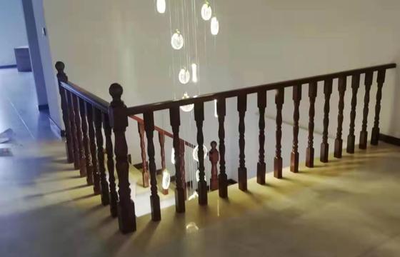 实木楼梯扶手定做