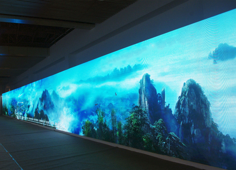 LED电子显示屏的设计与选择