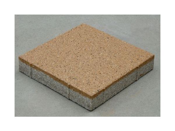正面透水型透水磚結構的形式怎么樣?