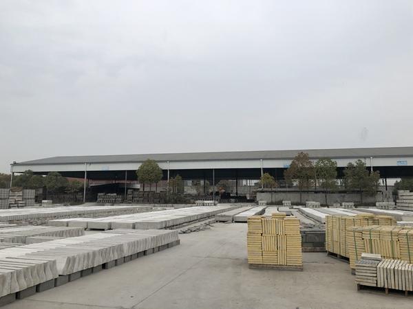 晶體呼吸磚生產廠區環境圖