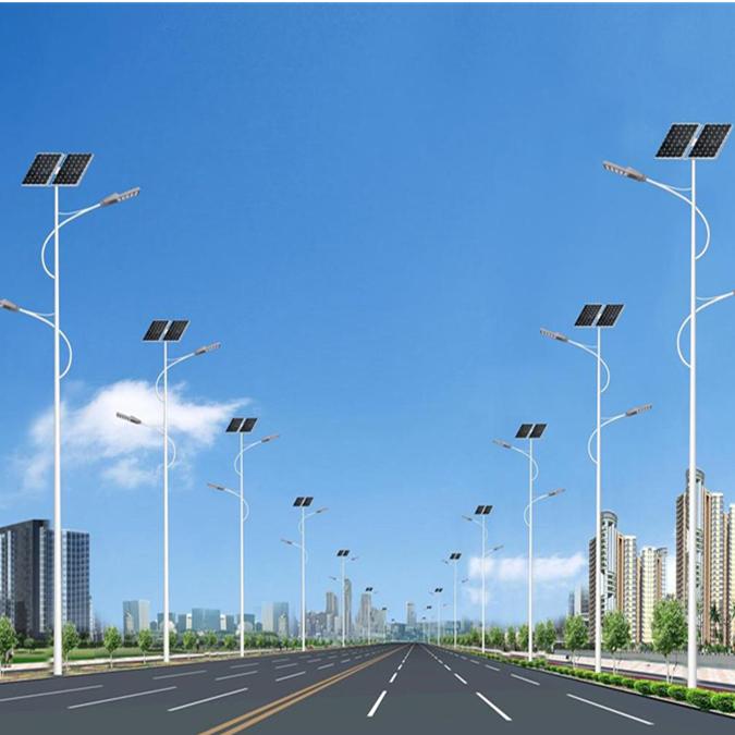 富顺县太阳能路灯厂家谈太阳能道路路灯具备的优点有哪些